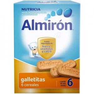 ALMIRON GALLETITAS ADVANCE NUEVO PACK 6 CEREALES 180 GR + 6 MESES