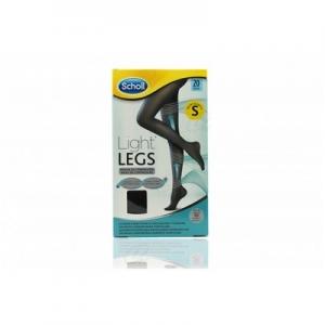 MEDIAS E.T. CINT COMP LIGERA 20 DEN SCHOLL LIGHT LEGS NEGRO T-S