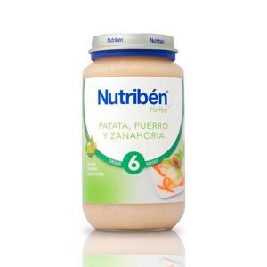 NUTRIBEN PATATA PUERRO ZANAHORIA