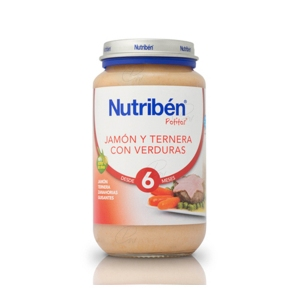 NUTRIBEN JAMON TERNERA VERDURA