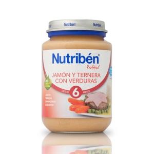 NUTRIBEN JAMON TERNERA VERDURA