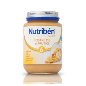 NUTRIBEN POSTRE DE 6 FRUTAS